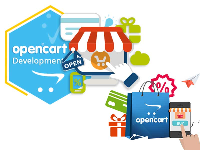 Opencart website